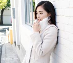 秋季OL最具魅力斜刘海发型设计
