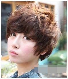 韩式烫发,乖巧可爱风