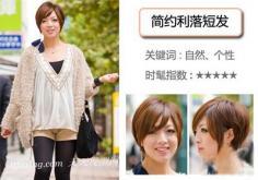 日本最流行的冬季短发
