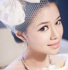 2013唯美又浪漫的新娘盘发