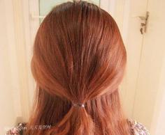 精致盘发发型步骤 简约造型不失华丽