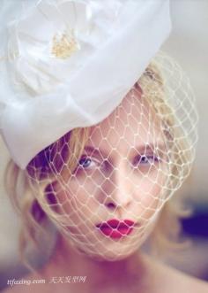 欧美风时尚新娘扎发图片大全