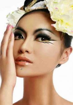 肌肤过敏,照样能做彩妆美女