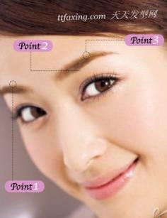 画完美眉毛 3重点4佳品5步骤