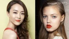 鲜艳唇妆4步骤画法 干净持久度强