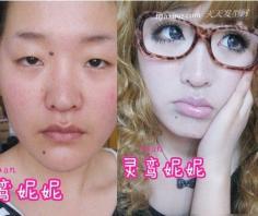网络红人告诉你什么是顶级化妆术