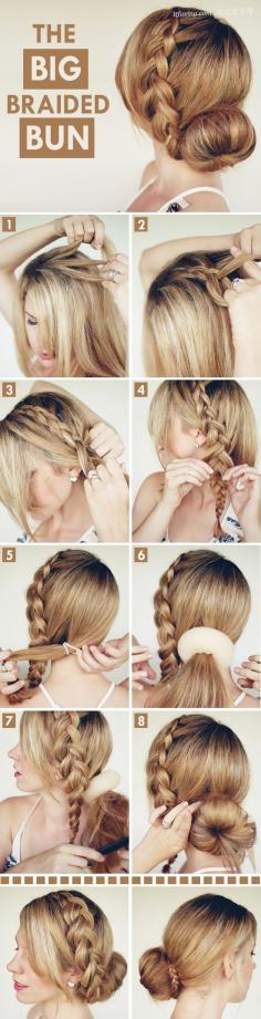 时尚华丽 来自欧美达人的夏季发型扎法