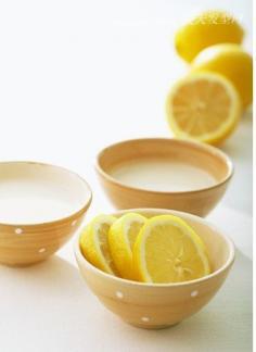 柠檬美白力量 成就白皙清新美女