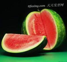 樱桃西瓜番茄苹果 红色水果养生美容效果好