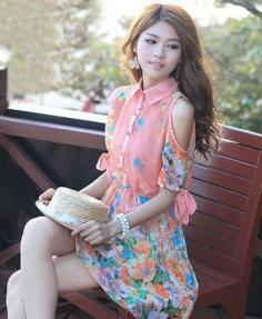 森女系田园风连衣裙 娇俏减龄清甜而纯情