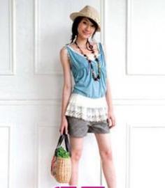 小个子女生穿衣技巧 夏天比例搭配拉长身形!