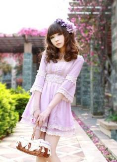 盘点女生最爱的韩式连衣裙搭配