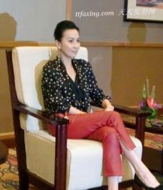 明星榜样 拉链瘦腿裤装成今秋最新时尚主流