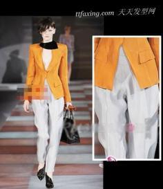 干练裤装大衣,更显女性优雅身材