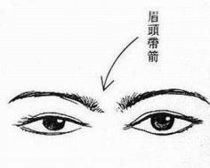 四种霉运眉形:修剪扫晦气