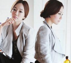 职场女性盘发发型设计 潮流时尚展现优雅OL风