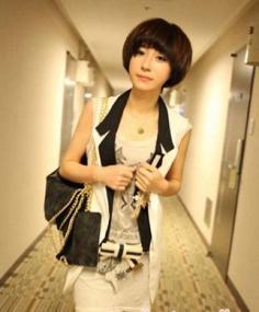 女生蘑菇头短发发型图片推荐 轻松让你增添时尚元素