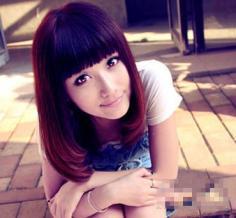 2014女生梨花烫发型图片推荐 超萌梨花头改变你的大饼脸