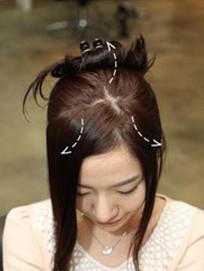 韩式可爱花苞头怎么扎 扎发图解让发型更完美