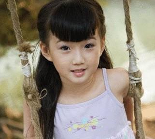12岁女孩适合的发型,我不要剪刘海