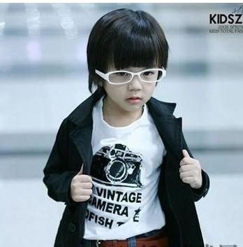 男儿童发型设计图片 萌宠BOY最新潮儿童短发发型帅气亮相