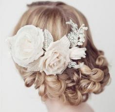 伴娘盘发发型图片赏析 伴娘发型也要浪漫优雅