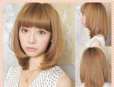 大脸女生适合什么发型 日系可爱少女风短发你值得拥有