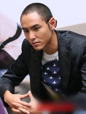 2014男士卡尺发型图片 明星示范男子气概卡尺发型 高清图片