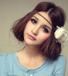 时尚短发烫发发型 专属你的清爽甜美发型