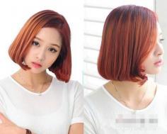 2014女生短发烫发发型图片 最新潮个性短发打造百变气质