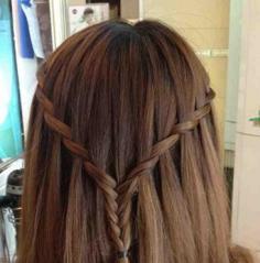 好看的编发发型步骤 最新潮女生发型扮靓有技巧