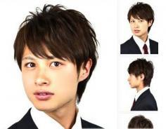 几款不同脸型的男士发型 根据自己的风格设计发型