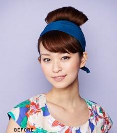 最简单的韩式盘头发造型 唯美盘发图片挑战你的视觉