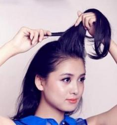 职场女性马尾辫的扎法图解 轻松打造玲珑剔透气质