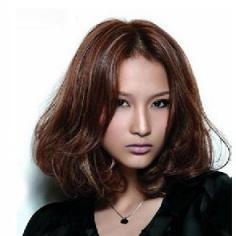 2014最新流行烫发发型 减龄修脸一举两得