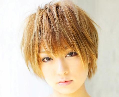 脸型   ,短发发型,让你更具时尚魅力气质.   圆脸短发发型   高清图片