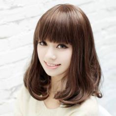 日系短发梨花头发型图片看点 显脸瘦的超人气发型