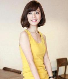 女生斜刘海适合什么脸型 掌握脸型与发型的搭配技巧