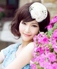 5款时尚女生斜刘海发型图片 让你快速搭出气质御姐感