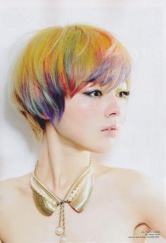 染发后显皮肤白的头发颜色大全 十种颜色最衬皮肤