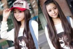 2014最新女生刘海发型图片 可爱妹纸必备的卖萌发型