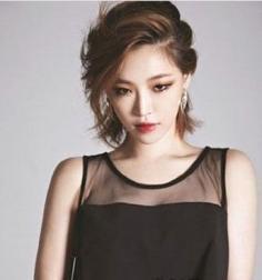 2014最流行的女短发发型设计 韩式短发尽显恬静气息