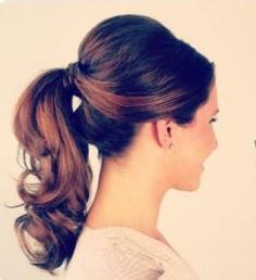 最新款长头发的扎法图片 适合冬季的时尚长发发型