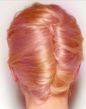 5款时尚日常简单盘发发型 让你散发出迷人的魅力图片