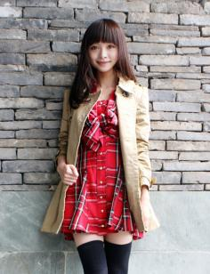 齐刘海长发发型图片赏 感受甜美清新的视觉盛宴