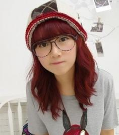 女生不同的脸型配发型与发色 完美绽放你的美