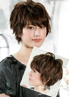 日系短发发型图片让你立刻拥有迷人小脸