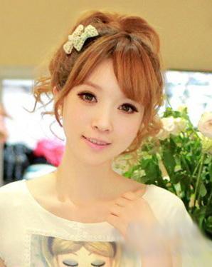 六款女生斜刘海发型图片 为你呈现时尚靓丽形象图片