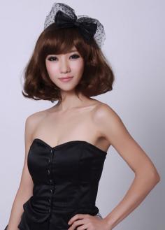 2014最新发型短卷发发型图片 展现女人另一面妩媚