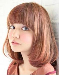 5款国字脸女生适合的发型图片 减龄必备造型